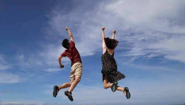 N'ayez pas peur d'être heureux, c'est juste un bon moment à passer